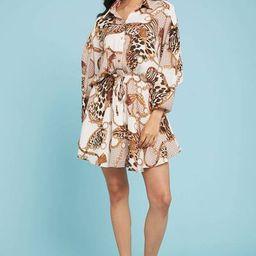 Fate Chain Print Shirt Dress | Social Threads