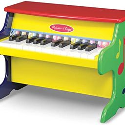 Melissa & Doug Learn-To-Play Piano With 25 Keys and Color-Coded Songbook, H: 18.5 x W: 13 x D: 11... | Amazon (US)