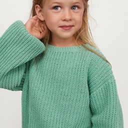 Knit Chenille Sweater | H&M (US)