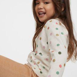 Fine-knit Cotton Sweater | H&M (US)