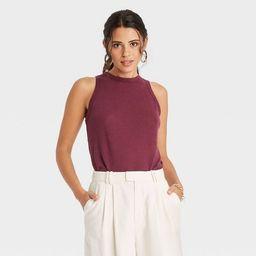 Women's Linen Tank Top - A New Day™ | Target