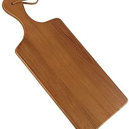 AIDEA Wood Cutting Board with Handle, Cheese Board Chartuterie Board for Kitchen, Party | Amazon (US)