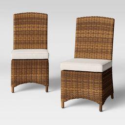 Eldridge 2pk Armless Patio Dining Chairs - Smith & Hawken™   Target