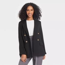 Women's Double Breasted Blazer - A New Day™ | Target