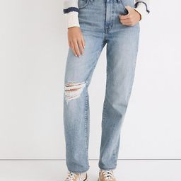 The Perfect Vintage Straight Jean in Reinhart Wash | Madewell