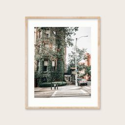 9. [Ivy Corner Uptown] Ivy Covered Building Uptown Manhattan New York City Print   Etsy (US)