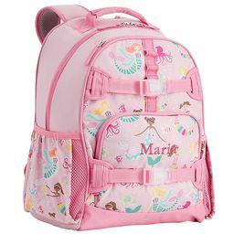Mackenzie Pink Mermaid Friends Glow-in-the-dark Backpacks   Pottery Barn Kids