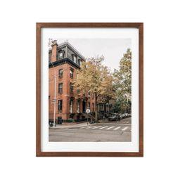 20. [Yellow Leaves on Street Corner] Photography Print, Brooklyn NYC New York City Photo | Etsy (US)