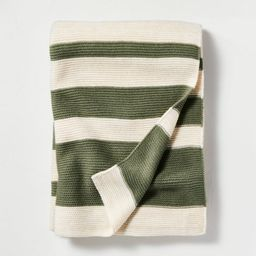 Color Block Stripe Throw Blanket - Hearth & Hand™ with Magnolia   Target