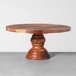 Wood Cake Stand - Hearth & Hand™ with Magnolia   Target