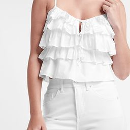 Tiered Ruffle Cami   Express