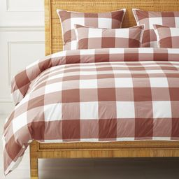 Gingham Duvet Cover   Serena and Lily