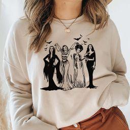 Spooky Girls sweatshirt, Halloween Friends Squad  sweatshirt, cute Halloween,Halloween  sweatshir...   Etsy (US)