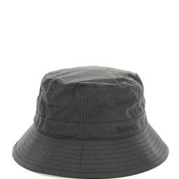 BARBOUR WAX SPORTS BUCKET HAT XL Black Cotton | Coltorti Boutique
