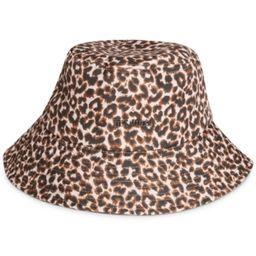 Steve Madden Leopard Bucket hat with Metal Logo | Macys (US)