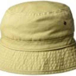 San Diego Hat Company Men's Washed Cotton Bucket Hat - Small/Medium, Khaki | Amazon (US)