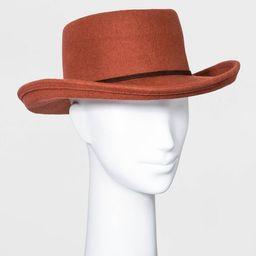 Women's Felt Boater Hat - Universal Thread™ | Target