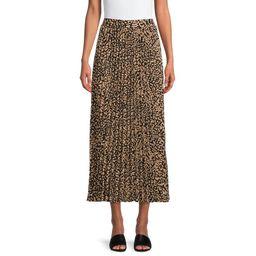 The Get - The Get Women's Pleated Maxi Skirt - Walmart.com | Walmart (US)