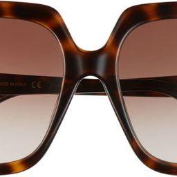 59mm Gradient Square Sunglasses | Nordstrom