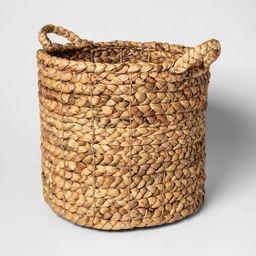 "16""x14.5"" Decorative Basket Natural - Threshold™   Target"