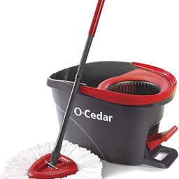 O-Cedar EasyWring Microfiber Spin Mop, Bucket Floor Cleaning System   Amazon (US)