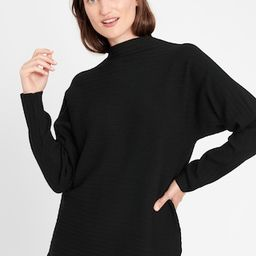 Ribbed Funnel-Neck Sweater   Banana Republic (US)
