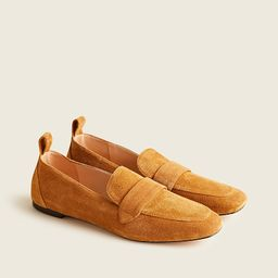 Marie tab loafers in suede | J.Crew US
