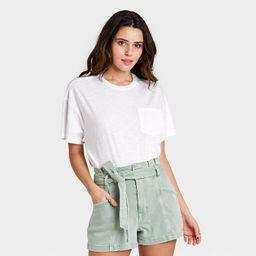 Women's Short Sleeve Boxy T-Shirt - Universal Thread™   Target