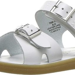 FOOTMATES Boy's Tide Hook-and-Loop and Buckle Sandal White - 1000 | Amazon (US)