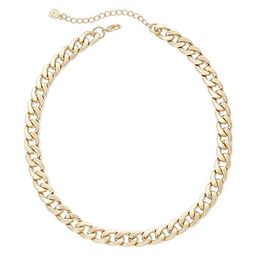 Monet® Gold-Tone Curb Link Collar Necklace | JCPenney
