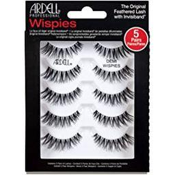 Ardell False Eyelashes Demi Wispies Black, 1 pack (5 pairs per pack) | Amazon (US)