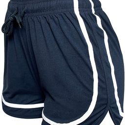 VALINNA Athletic Workout Gym Yoga Running Fitness Sports Shorts for Women Lounge Short Pants | Amazon (US)