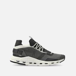 On Cloudnova Sneakers in Black/White Bandier | Bandier