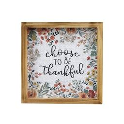 """7"""" Choose to be Thankful Tabletop Sign by Ashland® 