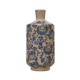 "7.5"" Blue & White Floral Vase by Ashland® | Michaels Stores"