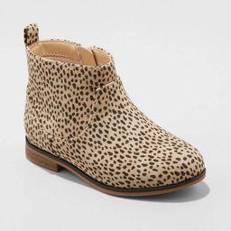 Toddler Girls' Onyx Zipper Slip-On Chelsea Boots - Cat & Jack™   Target