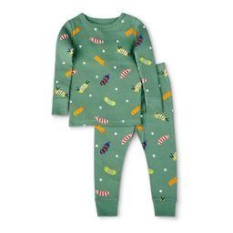 Toddler Caterpillar Print Top & Bottom Set - Christian Robinson x Target  Green | Target