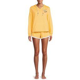 Secret Treasures Women's and Women's Plus Hooded Sleep Pajama Boxer Set   Walmart (US)