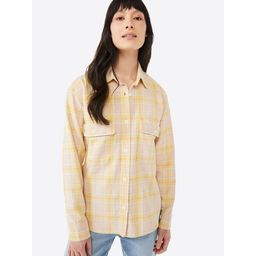 Free Assembly Women's Long Sleeve Work Shirt   Walmart (US)