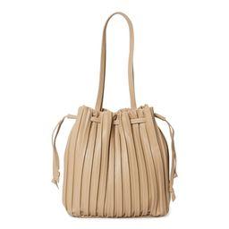 Time & Tru Women's Pleated Bucket Handbag   Walmart (US)