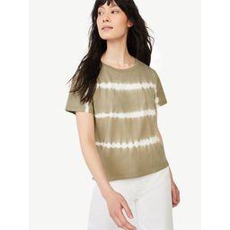 Free Assembly Women's Short Sleeve Crop Box T-Shirt   Walmart (US)
