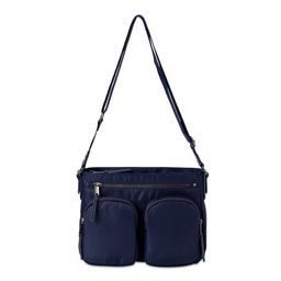 Time & Tru Mattie Nylon Women's Crossbody Bag, Navy   Walmart (US)