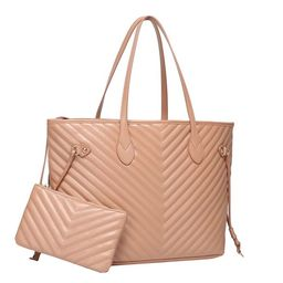Daisy Rose Tote Shoulder Bag and Matching Clutch - PU Vegan Leather Handbag for Travel Work and S...   Walmart (US)