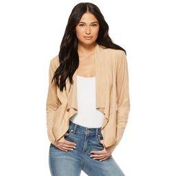 Sofia Jeans by Sofia Vergara Women's Faux Suede Moto Jacket   Walmart (US)