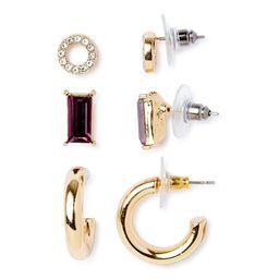 C. Wonder Earrings, 3-Piece Set | Walmart (US)