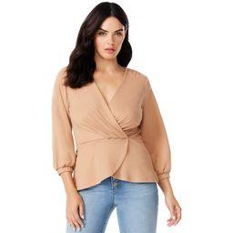 Sofia Jeans by Sofia Vergara Women's Peplum Hem Top | Walmart (US)