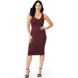 Sofia Jeans by Sofia Vergara Women's Seamless Tank Dress | Walmart (US)