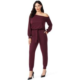 Sofia Jeans by Sofia Vergara Women's Slouch Shoulder Jumpsuit | Walmart (US)