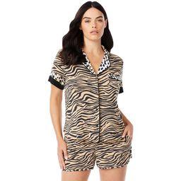 Sofia Intimates by Sofia Vergara Women's and Women's Plus Top and Shorts Pajama Set, 2-Piece | Walmart (US)