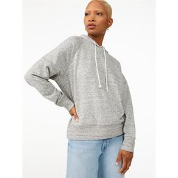 Free Assembly Women's Pullover Hoodie | Walmart (US)